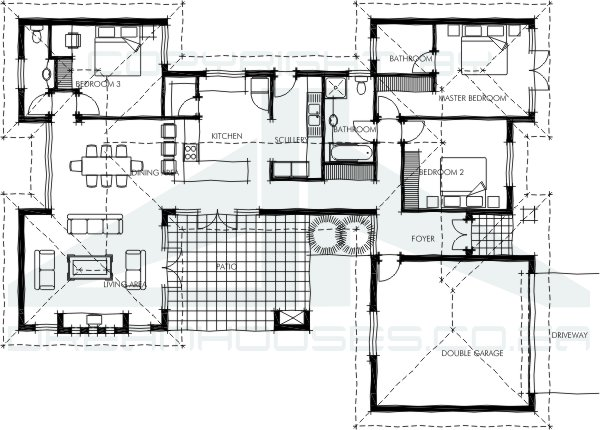 Bali house plans House plan design